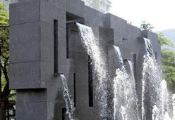 豹皮花石材景观建筑装饰